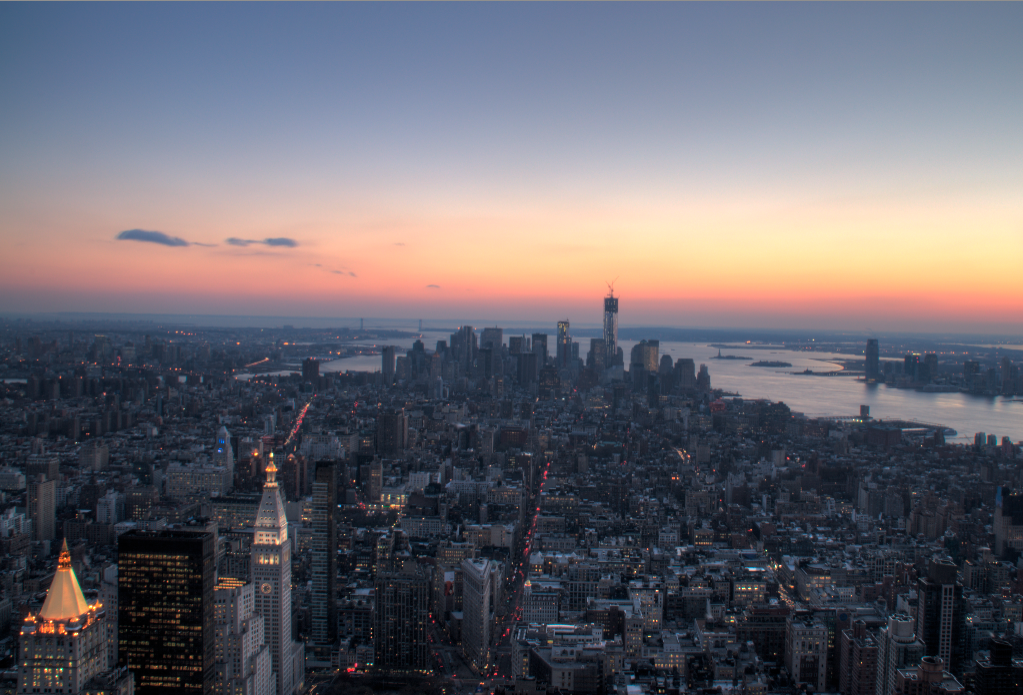 Empire State, New York, HDR Photography