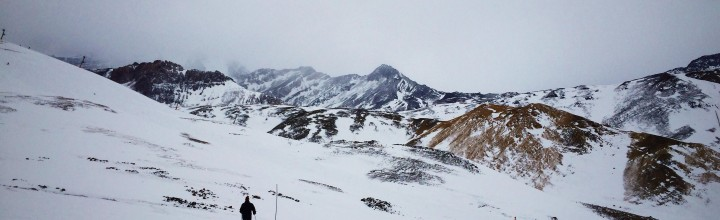 Skiing in the Andes, Chile